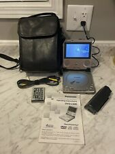 New listing Vintage Panasonic Dvd-L50 Personal Portable Dvd Player With Case Manual & Case