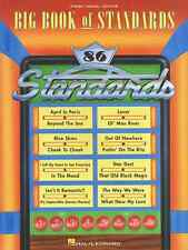 """THE BIG BOOK OF STANDARDS"" PIANO/VOCAL/GUITAR MUSIC BOOK BRAND NEW ON SALE!!"