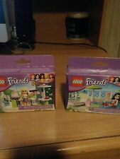 Lego 3930-3931 Friends Stephanie's Outdoor Bakery- Emmas Splash Pool NEW