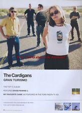 The Cardigans Gran Turismo Album 1999 Magazine Advert #993