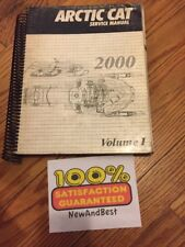 2000 Arctic Cat Snowmobile Volume I Service Shop Repair Manual P/N 2256-248