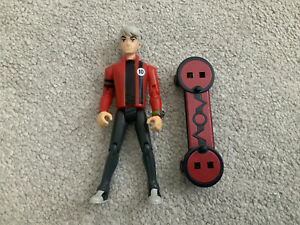 Ben 10 Bandai 2008 Alien Force Albedo 10cm Figure With Skateboard Accessorie