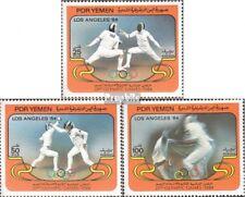 south yemen (democrat. republic.) 348-350 mint never hinged mnh 1984 Olympics Su