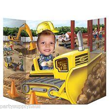 Under Construction CONSTRUCTION Bulldozer PHOTO PROP Party Decoration HARD HAT