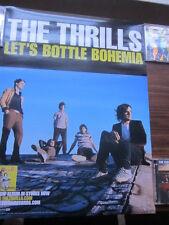 The Thrills 2004 Let's Bottle Bohemia Promo Poster Deasy Ryan Garrigan Horan
