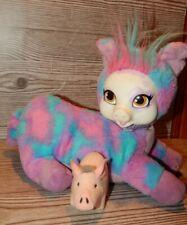 """Piggy Surprise  Plush Paris, 12"""", Multi-Color Mommy Pig Stuffed Animal Toy"""