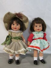 "Set of 2 Mariquita Perez 8"" Dolls"