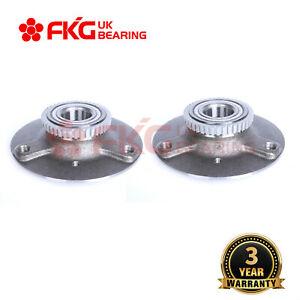 2x FRONT WHEEL BEARING HUB FOR SMART CABRIO CITY COUPE ROADSTER FORTWO 2003-2008