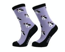 Ladies French Bulldog Design Socks Seamless Toe