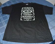 Lynard Skynard Men's T-Shirt XL Live Support Southern Rock Jack Daniels Logo