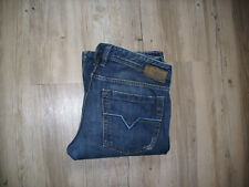DIESEL ZATHAN (0071S) Flare/ Bootcut Jeans W32 L34 USED/ DISTRESSED WASCHUNG LK1