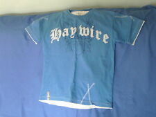Boys 11-12 Years - Blue T-Shirt with Logo - Haywire