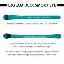 New in Package Moda Smoky Eye Makeup EZ-GLAM Smoky Brushes set, Teal