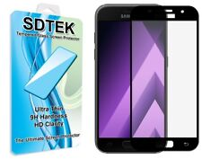 SDTEK Full Screen Glass Protector for Samsung Galaxy A5 2017 (Black)