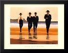 The Billy Boys 36x28 Extra Large Black Wood Framed Art Print by Jack Vettriano