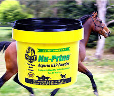 HORSE ASPIRIN Powder NU-PRINE 1.14kg! Over the counter PAIN RELIEF for HORSE'S!!