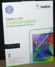 TrueClear Transparent Screen Protector 2-Pack for Samsung GALAXY Tab 4 10.1 NEW