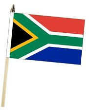 South Africa Large Hand Waving Courtesy Flag