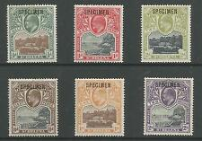 ST HELENA SG 55s-60s THE SCARCE 1903 EVII SET OF 6 OVERPRINTED SPECIMEN CAT £275
