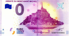 50 MONT-SAINT-MICHEL Abbaye, 2018, Billet 0 € Souvenir
