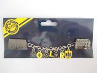 Goslar Harz  Metall Magnet XL mit Kette Souvenir Germany 16 cm !!!