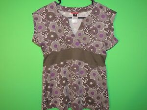 The North Face Women's Size S Small Geometric V Neck Sleeveless Shirt / Top