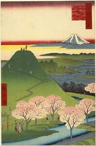 Ando Utagawa Hiroshige New Fuji Giclee Canvas Print Paintings Poster Reproductio
