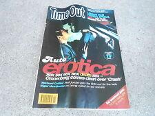 NOV 6 1996 TIME OUT UK tv entertainment magazine - AUTO EROTICA