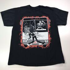 Ultra Rare Lich King Black Metal Sucks Tee T shirt Sz Large No Tags #444
