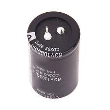 5X 63V 10000UF Elko Elektrolytischen Kondensator CD293 85 ℃ fuer Audio DE