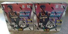2019-20 NBA (2) Panini Mosaic Prizm Basketball MEGA BOXES - JA & ZION
