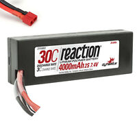 Dynamite Reaction 7.4V 4000mAh 30C 2S LiPo Hardcase Battery Deans Connector