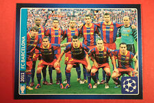 PANINI CHAMPIONS LEAGUE 2013/14 N. 621 BARCELONA WINNERS BLACK BACK MINT!