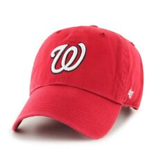 47 Brand Relaxed Fit Cap - MLB Washington Nationals rouge