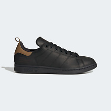 adidas Mens Stan Smith Shoes with cold weather in mind black