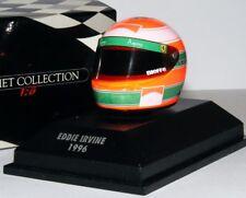 RARE MINICHAMPS Eddie Irvine Ferrari F1 driver helmets 96-98 1:8