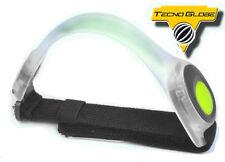 Brassard LED Lumière fluo TECNO GLOBE vélo moto cycliste jogging footing NEUF