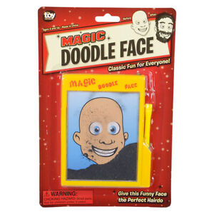 Magic Doodle Face - Child Magnetic Draw Board Puzzle Game - Classic Novelty Toy