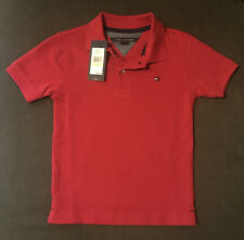 Tommy Hilfiger Red Polo Short Sleeve 4T NWT