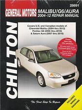 2004 - 2012 General Motors Malibu/G6/Aura Chilton Repair Service Manual 23207