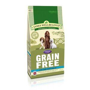 James Wellbeloved Senior Grain Free Fish & Veg Dog Food | Dogs