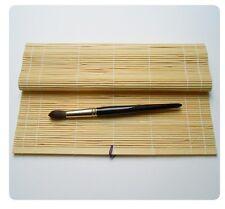 Pinselmatte, Bambus, natur oder schwarz, 30 x 40 cm, Künstlermaterial, Mappe,Neu