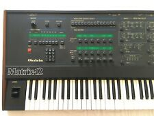 Oberheim Matrix 12 (Made in USA) - Rare vintage analog synth synthesizer