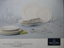 VILLEROY & BOCH-WONDERFUL WORLD WHITE - 36 PEZZI