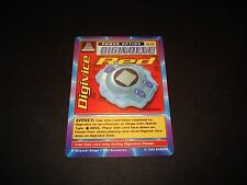 BANDAI DIGIMON CARD ST-59 DIGIVICE RED-1ST EDITION-GREAT CONDITION