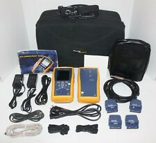 FLUKE NETWORKS DTX-1800 120 CABLE ANALYZER COPPER CERTIFICATION TESTER INTL