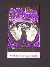 BG122 BUFFALO SPRINGFIELD Psychedelic FILLMORE TICKET by LEE CONKLIN