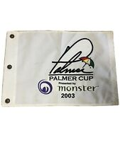 2003 PALMER CUP PIN FLAG - presented by monster -Arnold Palmer