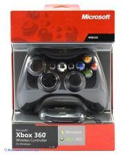 Xbox 360-original Wireless pad #schwarz (para pc/xbox360) [Microsoft] (con embalaje original)