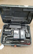 Vintage JVC GR-C2 Video Movie Camcorder in Case VHS C  Great for Props
